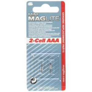 ミニマグライト スペア電球(AAA用) 2個入 / 0-2813-02|bfe