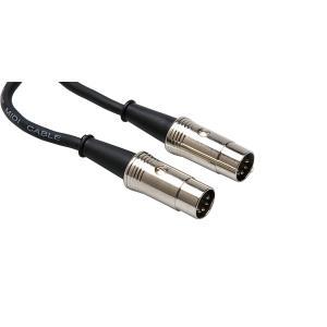 Hosa MID-505 1.5m 5ピンDIN MIDIケーブル|bfe