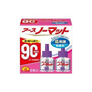 アース製薬 アースノーマット 90日用 取替ボトル 無香料 2本入 bfe
