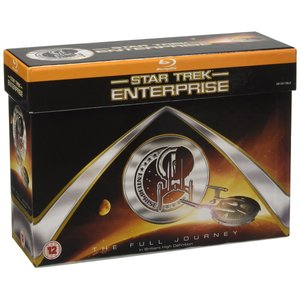 Star Trek: Enterprise: The Full Journey - The Complete Series Collection box Set [Blu-ray]|bfe