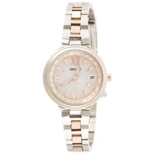 [ルキア]LUKIA 腕時計 サブマスコミモデル ソーラー電波修正 サファイアガラス 10気圧防水 SSVV020 レディース|bfe