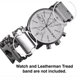 Leatherman Link ステンレススチール用時計アダプタ Gショック トレッド|bfe