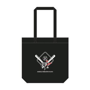 【条件付き送料無料】 BFJ キャンバストート バッグ 肩掛け A4 大容量 英字ロゴ ロゴ 野球 大きめ トートバッグ 帆布 エコバッグ|bfj