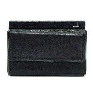 【訳あり】【アウトレット】 dunhill ダンヒル 名刺入れ FS4000A カードケース ブラック|bheart