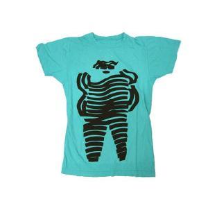 【メール便可】MARC BY MARC JACOBS 134758 Maripol Stripe Woman Tee Tシャツ Sサイズ エメラルドグリーン マークバイマークジェイコブス|bheart