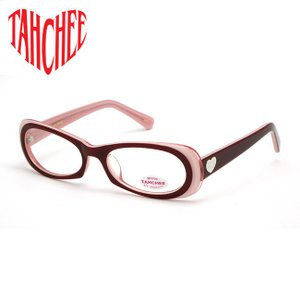 TAHCHEE RX ターチー レディース UVカット サングラス CARDIFF カーディフ No.5 レッド / ピンク メガネ フレーム 眼鏡 アイウェア|bheart