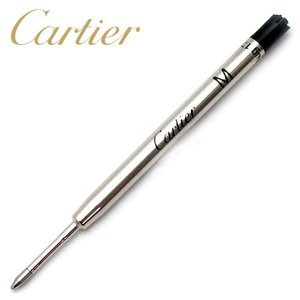 【メール便は送料無料】 Cartier VXRB0511 ボールペン替え芯 ブラック M 中字 カルティエ