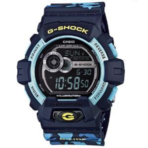 CASIO カシオ GLS-8900CM-2 G-LIDE メンズ デジタル 腕時計ブルー Gライド クォーツ G-SHOCK Gショック|bheart