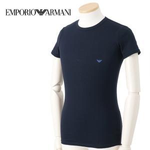 EMPORIO ARMANI 111035-5A717-00135 MARINE 4サイズ クルーネック 半そでTシャツ アンダーウェア メンズ 男性用 エンポリオ・アルマーニ 【メール便不可】|bheart