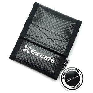 EX'CAFE 携帯灰皿 No.2 ブラック モバイルアシュトレイ|bheart