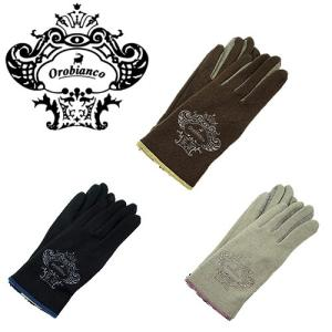 Orobianco オロビアンコ ORL-1570 レディース ジャージ グローブ タッチパネル対応 3色 手袋|bheart