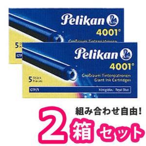 Pelikan ペリカン GTP/5 カートリッジインク 5本入り ×【2箱セット】 8色