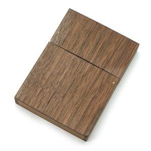 Transant Mfg 木製 ウッド 携帯灰皿 No.16 木目 モバイルアシュトレイ|bheart