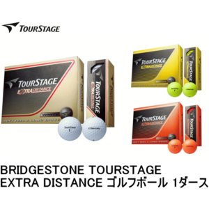 BRIDGESTONE TOURSTAGE EXTRA DISTANCE ゴルフボール 1ダース(ブ...