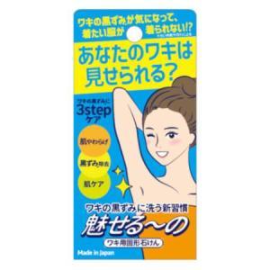 ★6個セット★送料込★ペリカン石鹸 魅せる〜の ワキ用固形石けん (85g)