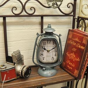 西海岸 インテリア カリフォルニア 時計 ランタン アンティーククロック ビンテージ おしゃれ 置時計|biaro