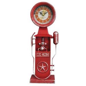 アメリカン インテリア 時計 ブルックリン 男前 アンティーククロック ビンテージ おしゃれ 置時計|biaro