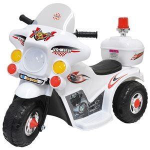子供 キッズ 乗り物 おもちゃ 電動 自動 バイク 白バイ のりもの 男の子 誕生日プレゼント 3歳 4歳 5歳|biaro
