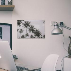 西海岸 インテリア ブルックリン 男前 モノトーン アートパネル アメリカン 雑貨 リビング壁掛け ハワイ 海 カリフォルニア 風景 biaro