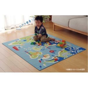 おしゃれ プレイマット ラグマット キッズ 子供用 ベビー 赤ちゃん AF35|biaro
