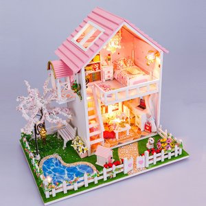 母の日のプレゼントにおすすめ 人気のドールハウス ミニチュア 組み立て 自作 キット セット biaro