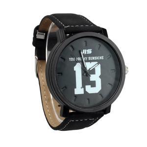 腕時計 メンズ レディース ウォッチ おしゃれ モノトーン ブラック|biaro