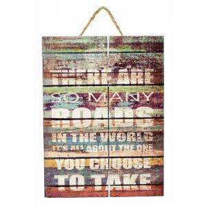 木プレート 西海岸 インテリア アートパネル 雑貨 リビング壁掛け ハワイ カリフォルニア 男前 ブルックリン アメリカン biaro