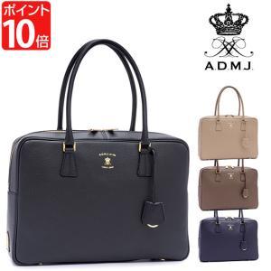 ADMJ エーディーエムジェイ アクセソワ 34cmボストンバッグ ACS01435 ポイント10倍|bib