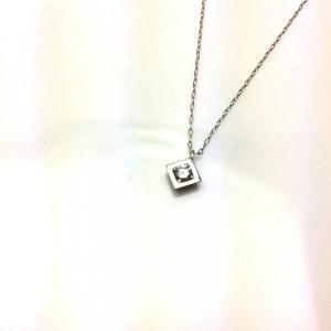 PT ダイヤモンド  プチ ネックレス 0.1ct|bibi-store