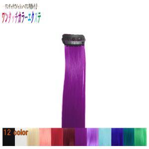 ウィッグ ポイントウィッグ つけ毛 エクステンション /耐熱 細い カラー メッシュピース パープル 紫系 /条件付き送料無料 ビビデ ビビデバビデブー /f13|bibidebabideboo