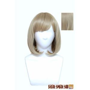 ウィッグ ウイッグ ショート ボブ ボブヘア セール 美容師 /耐熱 フルウィッグ マッシュボブ ベージュ /条件付き送料無料 ビビデバビデブー /206P16|bibidebabideboo
