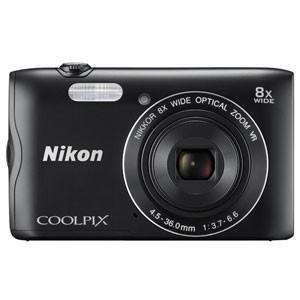 ニコン Nikon デジタルカメラ A300 ブラック CO...