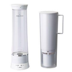 浄水器   水素水生成器 ドウシシャ 浄水機能付水素水生成器 0.9L ホワイト AH-HP1401-WH|bic-shop