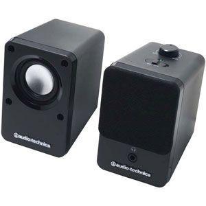 オーディオテクニカ audio-technica アクティブスピーカー  ブラック AT-SP102-BK|bic-shop