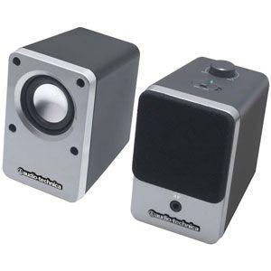 オーディオテクニカ audio-technica アクティブスピーカー  シルバー AT-SP102-SV|bic-shop