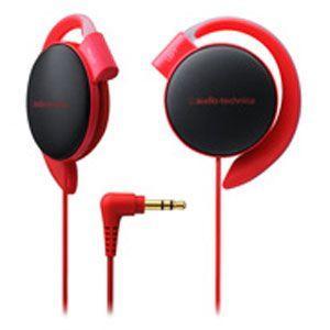 オーディオテクニカ   audio-technica   ダイナミックオープン型 耳かけ イヤホン レッド ATH-EQ500-RD|bic-shop