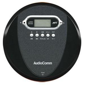 オーム電機 OHM MP3対応 ポ−タブルCDプレーヤー ブラック AudioComm CDP-3878Z|bic-shop