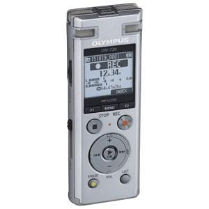 オリンパス OLYMPUS リニアPCM対応 ICレコーダー シルバー 4GBメモリ内蔵+外部マイクロSDスロット搭載 Voice-Trek DM-720-SLV|bic-shop