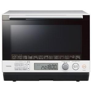 東芝 TOSHIBA 電子レンジ スチームオーブンレンジ 30L グランホワイト 過熱水蒸気オーブンレンジ 石窯ドーム ER-SD100-W|bic-shop
