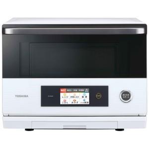 東芝 TOSHIBA 電子レンジ スチームオーブンレンジ 26L グランホワイト 過熱水蒸気オーブンレンジ 石窯ドーム ER-SD200-W|bic-shop
