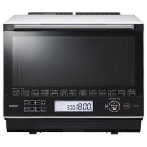 東芝 TOSHIBA 電子レンジ スチームオーブンレンジ 30L グランホワイト 過熱水蒸気オーブンレンジ 石窯ドーム ER-SD3000-W|bic-shop
