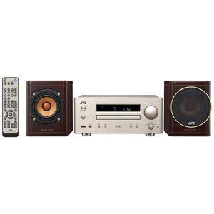 ビクター JVC iPod/iPhone対応 USB端子搭載 コンパクトコンポーネントシステ WOOD CONE EX-HR5|bic-shop