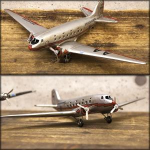送料無料 レトロ調 ヴィンテージ Aircraft AA-2 F0140-1A|bic-shop