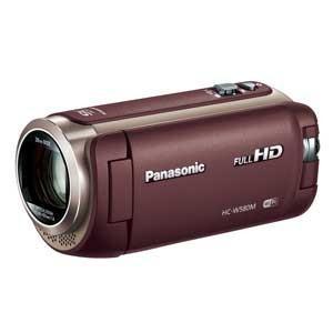 パナソニック Panasonic デジタルハイビジョンビデオカメラ HC-W580M ブラウン HC-W580M-T