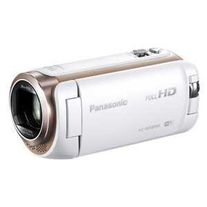パナソニック Panasonic デジタルハイビジョンビデオカメラ HC-W580M ホワイト HC-W580M-W