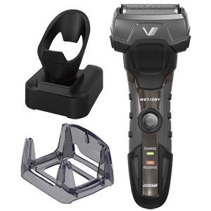 イズミ IZUMI メンズシェーバー 電気シェーバー ブラック グルーミングシリーズ A-DRIVE 3枚刃 シェーバー IZF-V738-K|bic-shop