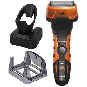 イズミ IZUMI メンズシェーバー 電気シェーバー オレンジ グルーミングシリーズ A-DRIVE 4枚刃 シェーバー IZF-V758-D|bic-shop