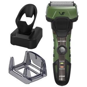 イズミ IZUMI メンズシェーバー 電気シェーバー グリーン グルーミングシリーズ A-DRIVE 4枚刃 シェーバー IZF-V758-G|bic-shop