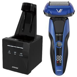 イズミ IZUMI メンズシェーバー 電気シェーバー ブルー ハイエンドシリーズ Z-DRIVE 4枚刃 シェーバー IZF-V978-A|bic-shop