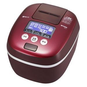 タイガー    TIGER   圧力 IH 炊飯ジャー 1升炊き ボルドー 炊きたて 炊飯器   JPC-A182-RD|bic-shop